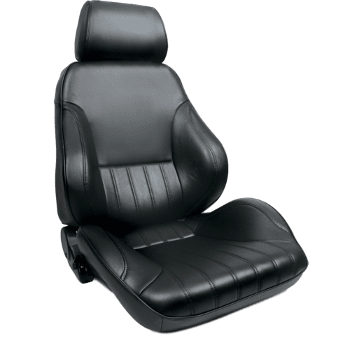Rally Smoothback Black Leather