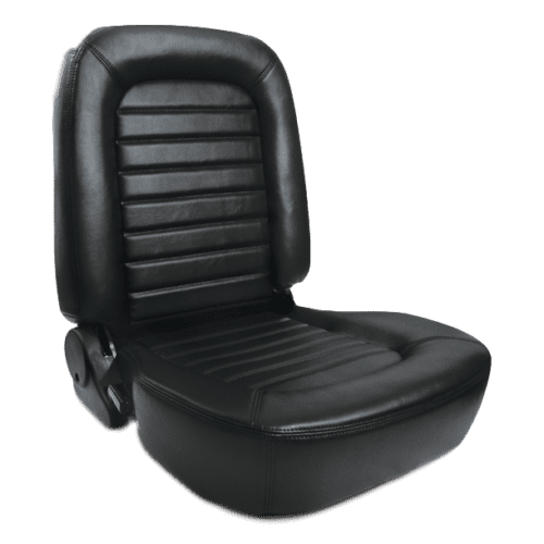 Classic Lowback Seat Black Leather