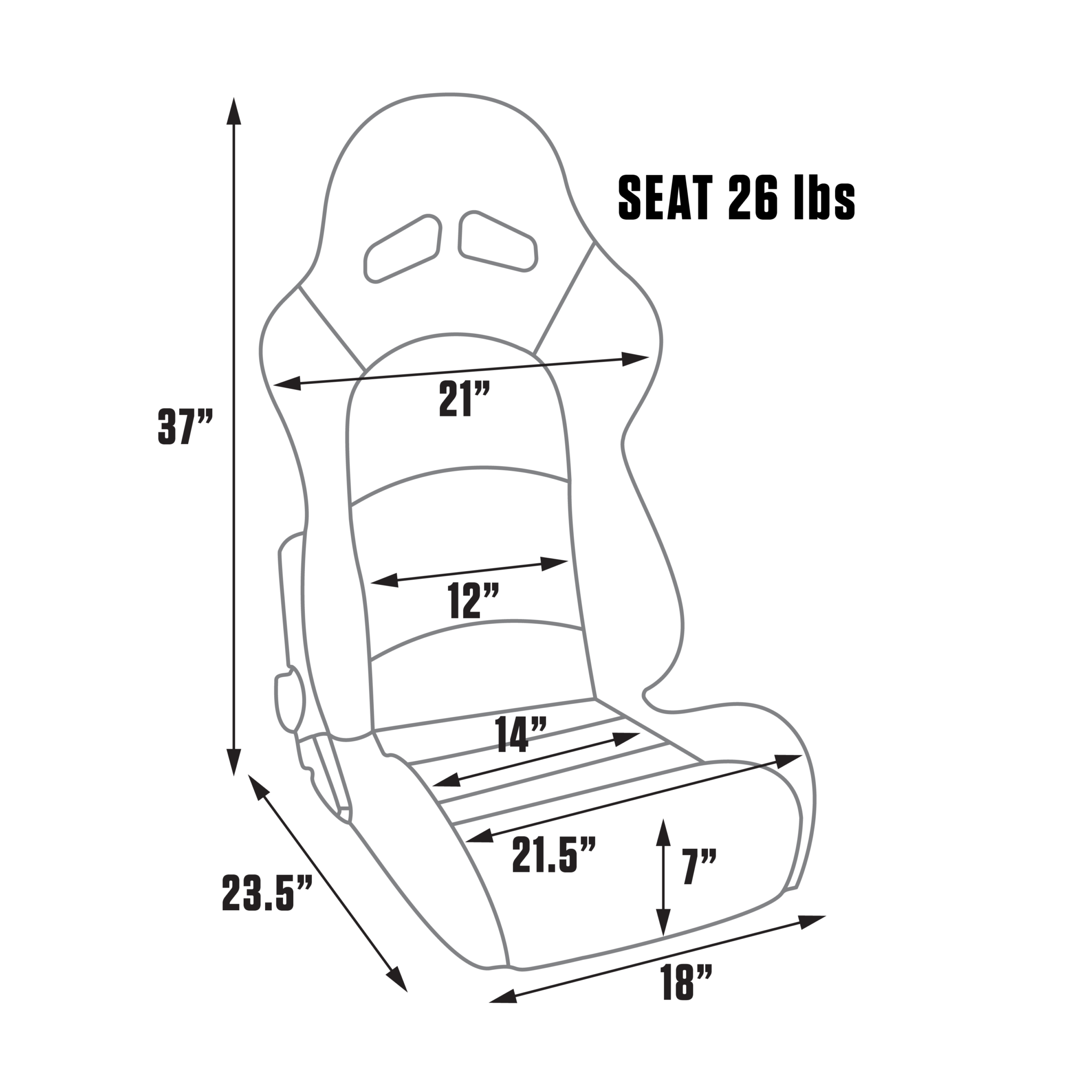 procar sportsman pro seat procar by scat custom seating solutions S10 Blazer Bucket Seats features and benefits