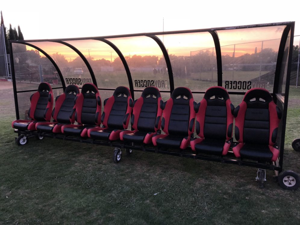 Awe Inspiring Procar Seats Used For Girls Soccer Team Bench Procar By Scat Ibusinesslaw Wood Chair Design Ideas Ibusinesslaworg