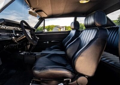Procar by SCAT Rally front seats inside 1967 Chevy Chevelle