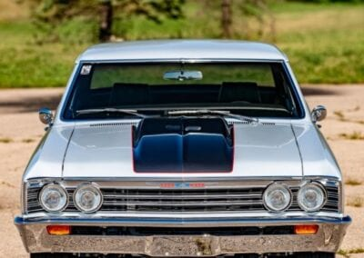 exterior front of 1967 Chevy Chevelle