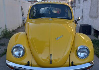 1969 Yellow VW Bug
